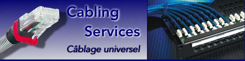 cablage universel RJ45 cabling services telephone